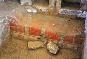 A 1st-2nd C Roman tomb discovered near Corinth